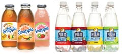 Snapple and Polar Drinks