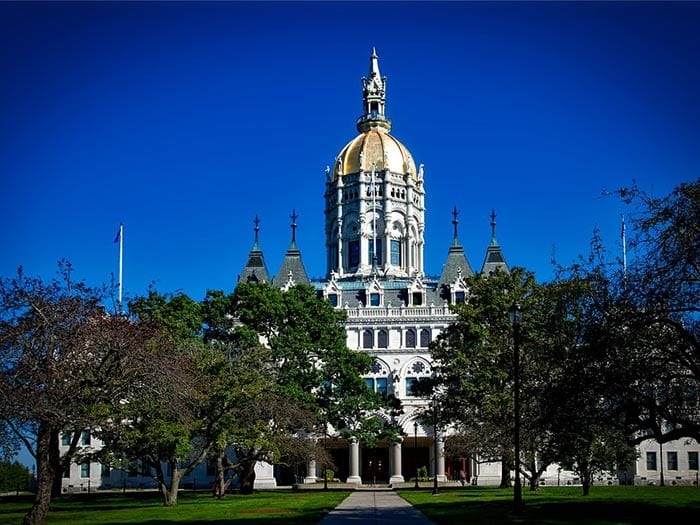 State Capital Building Connecticut Hartford