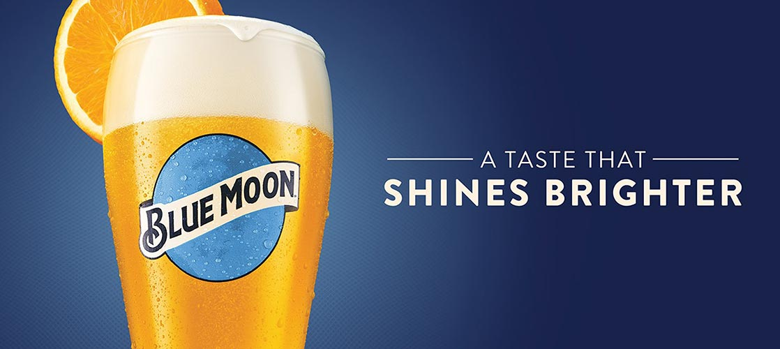 Blue Moon - a taste that shines brighter