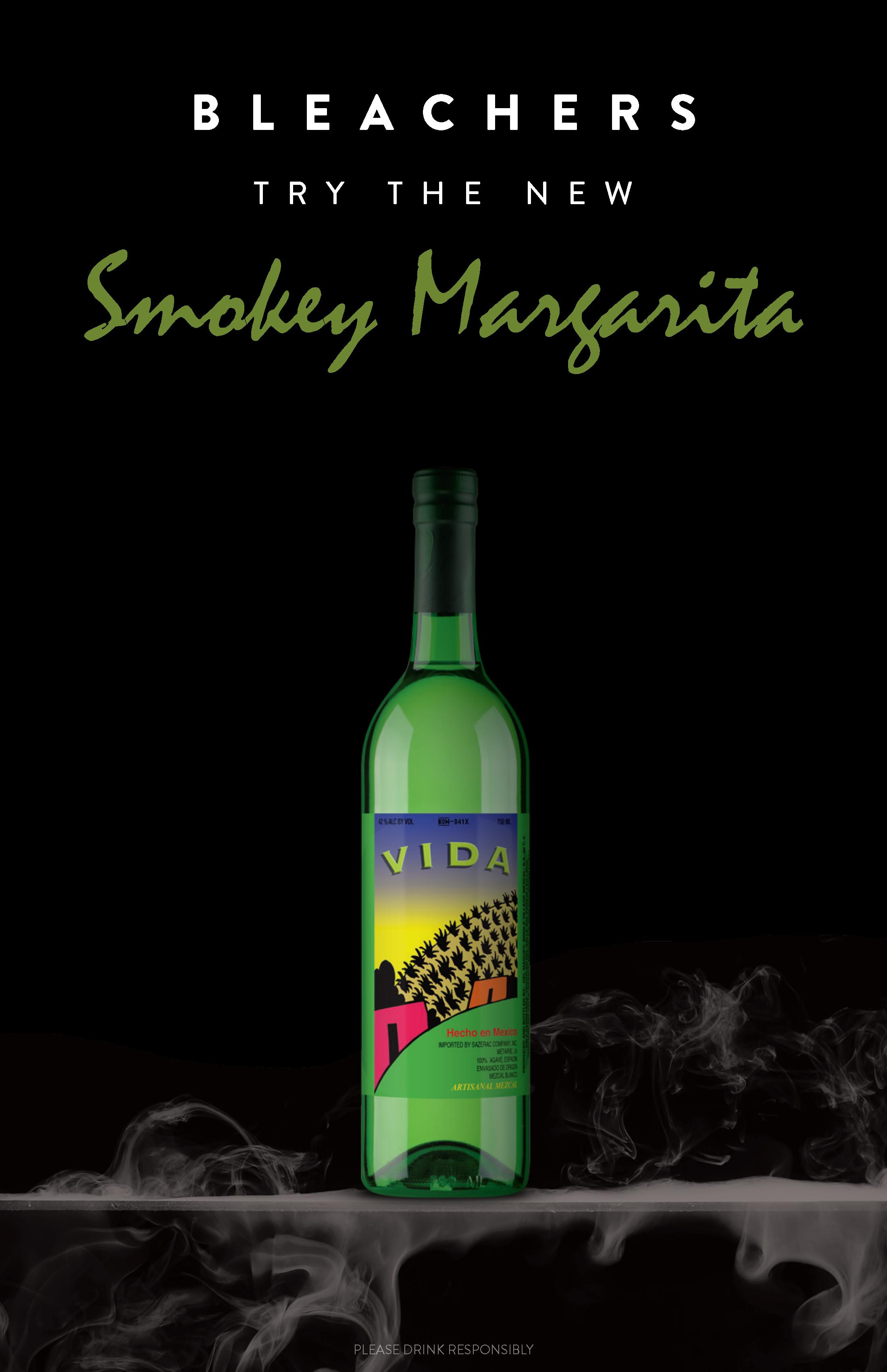 Bleachers Del Maguey Vida Smokey Margarita