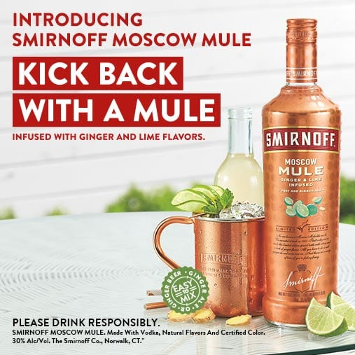 smirnoff moscow mule ready to drink
