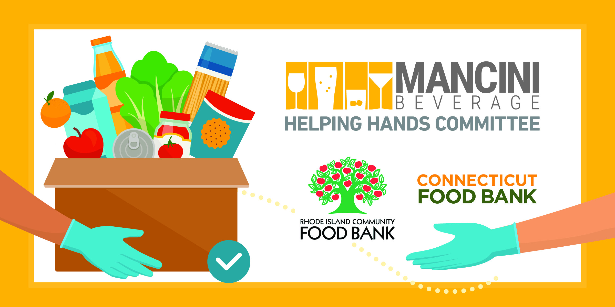 Helping Hands Committee Food Bank Donation